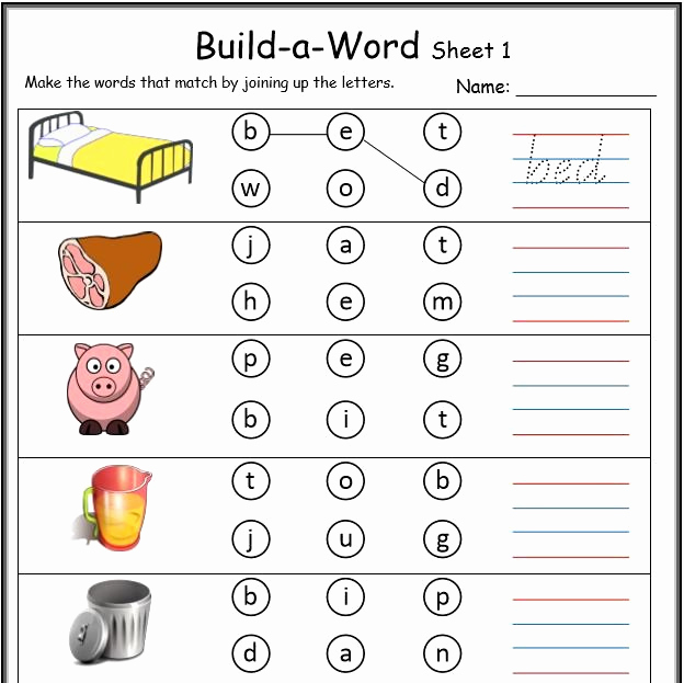 Cvc Worksheets for Kinder Awesome 25 Cvc Worksheet Kindergarten