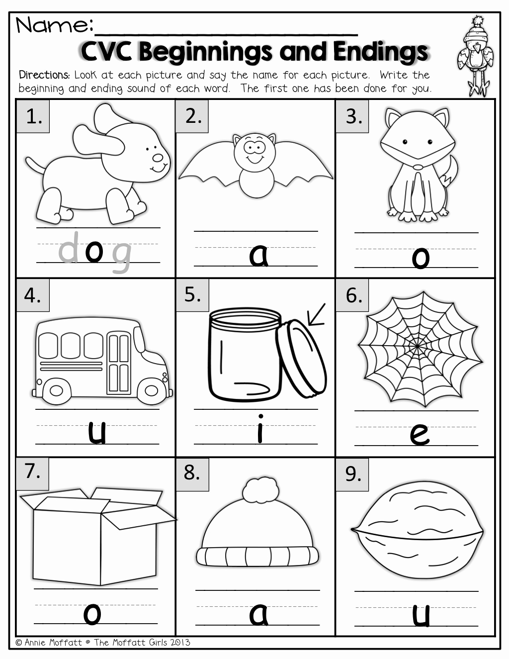 Cvc Worksheets for Kinder Beautiful Blending Cvc Words Worksheets for Kindergarten Best
