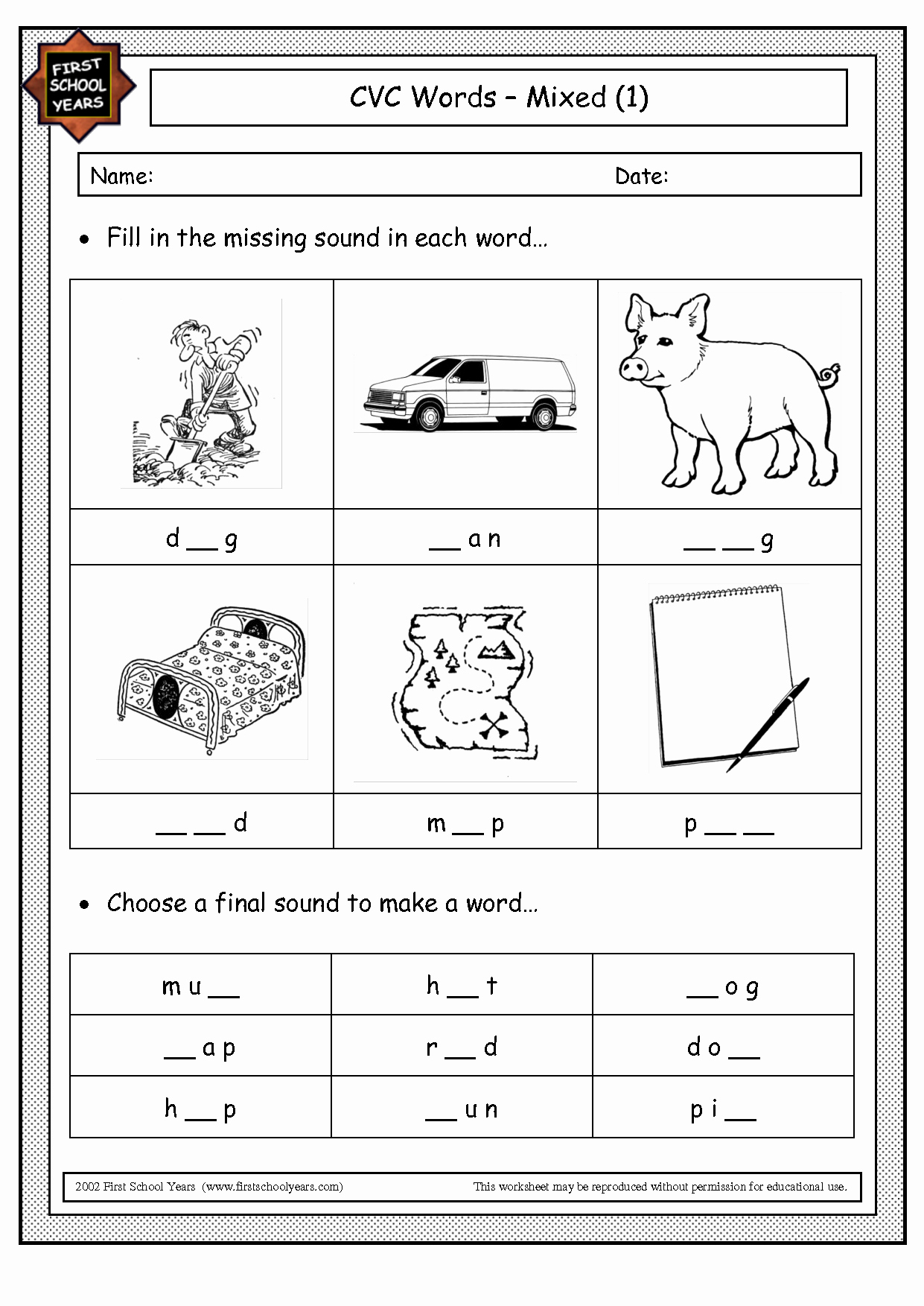 Cvc Worksheets for Kinder Inspirational 16 Best Of Cvc Worksheet Printout Cvc Word