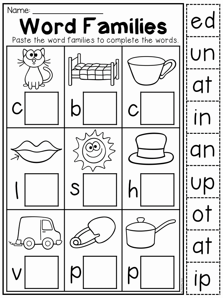 Cvc Worksheets for Kinder Lovely Kindergarten Cvc Worksheet Packet Distance Learning