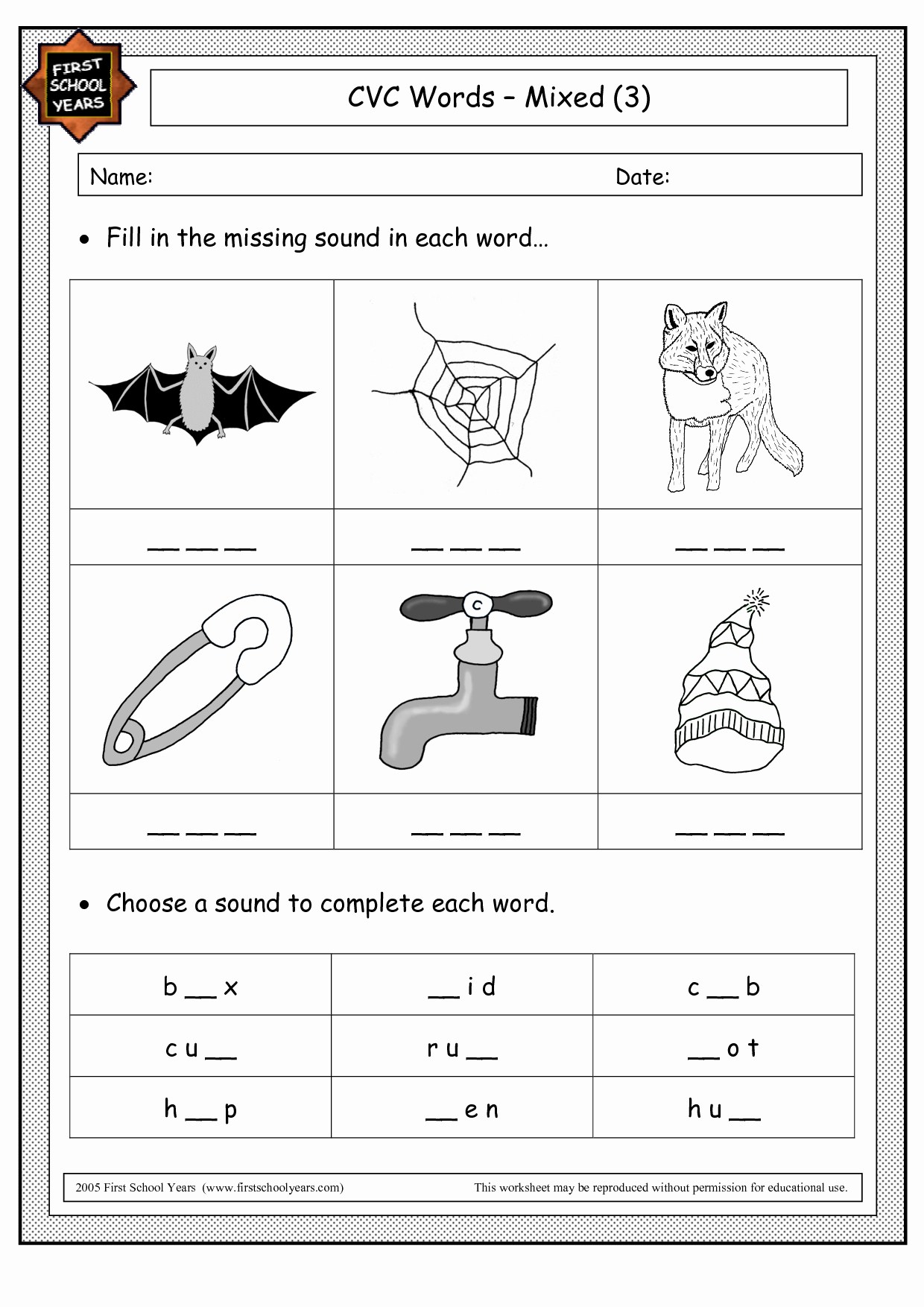 Cvc Worksheets for Kinder Luxury 14 Best Of Kindergarten Cvc Words Worksheets