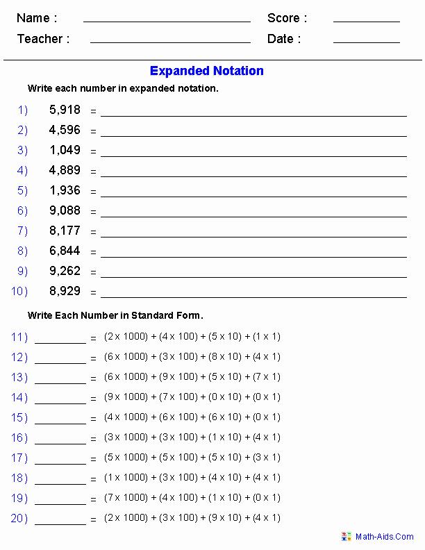 Decimal Expanded form Worksheet Inspirational Expanded form Decimals Worksheet 17 Secrets About Expanded