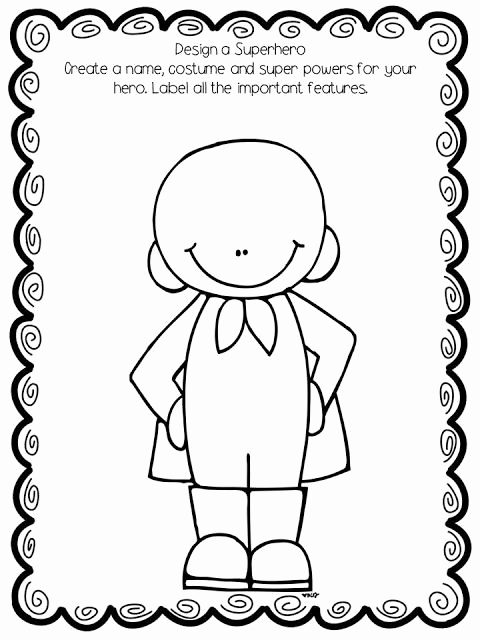 Design Your Own Superhero Worksheet Best Of Looking From Third to Fourth Mentor Text Linky Perfect