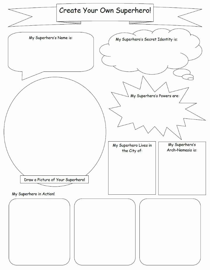 Design Your Own Superhero Worksheet Fresh Ics Worksheets – Ics Club socialwebrowsing