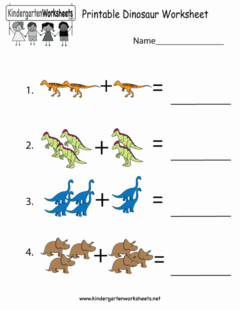 Dinosaur Worksheets for Kindergarten Beautiful Coloring Pages Printable Dinosaur Worksheet Free