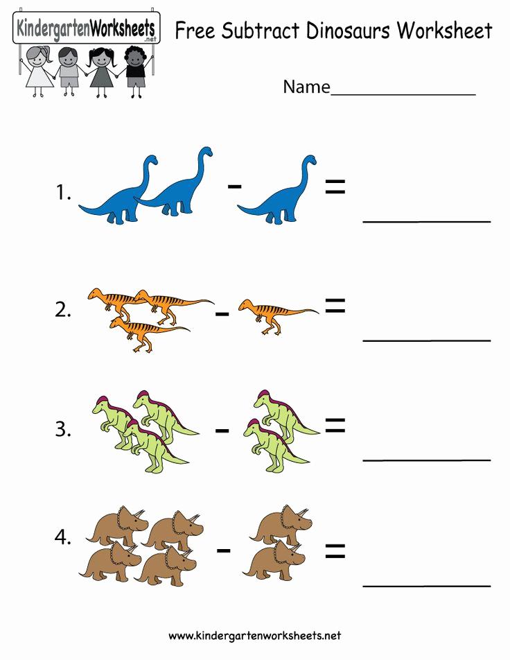 Dinosaur Worksheets for Kindergarten Luxury 35 Best Dinosaurs Images On Pinterest