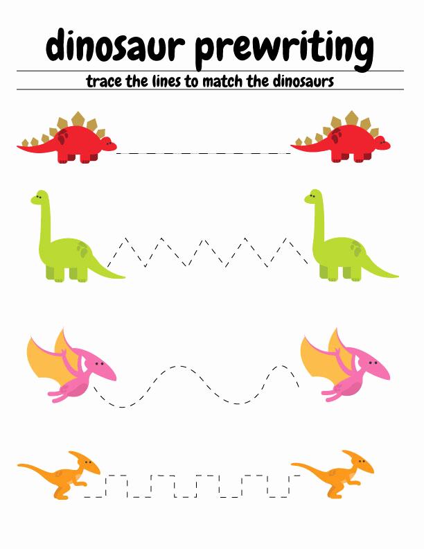 Dinosaur Worksheets for Kindergarten New Free Dinosaur Preschool Worksheets – the B Keeps Us Honest