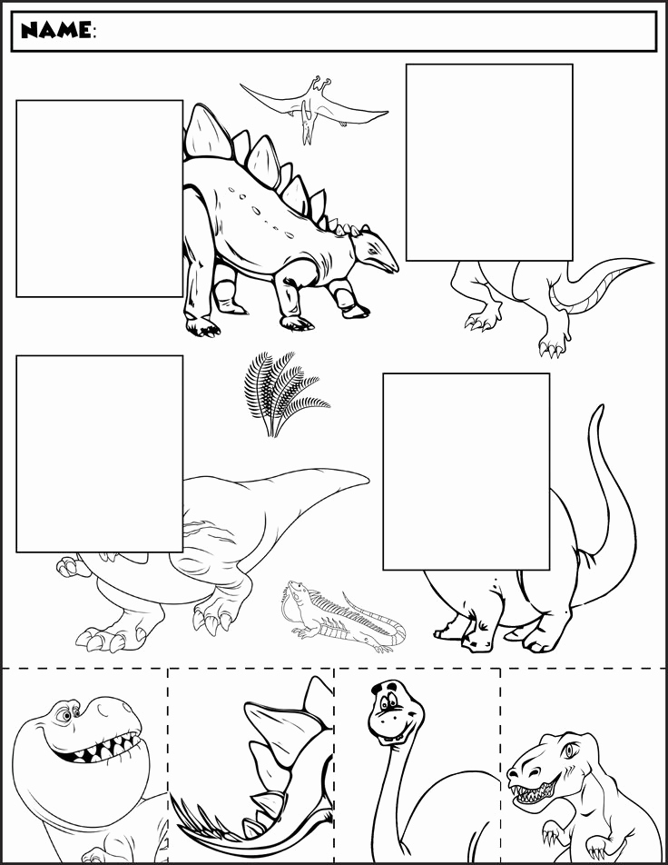 Dinosaur Worksheets for Kindergarten Unique 41 [pdf] Free Dinosaur Worksheets for Kindergarten