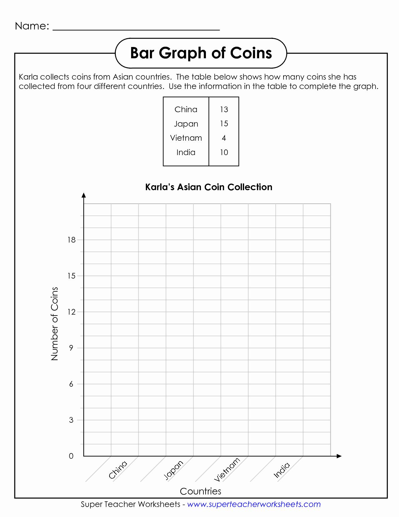 Double Bar Graphs Worksheet New 9 Best Of Super Teacher Worksheets Graphing Bar