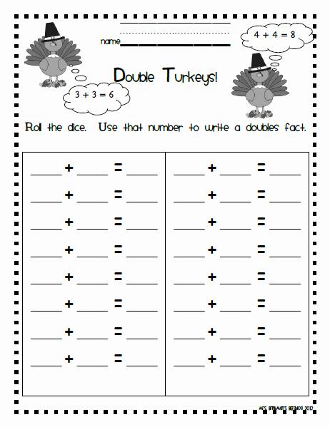 Double Facts Worksheets Inspirational Mrs Brinkman S Blog November 2012