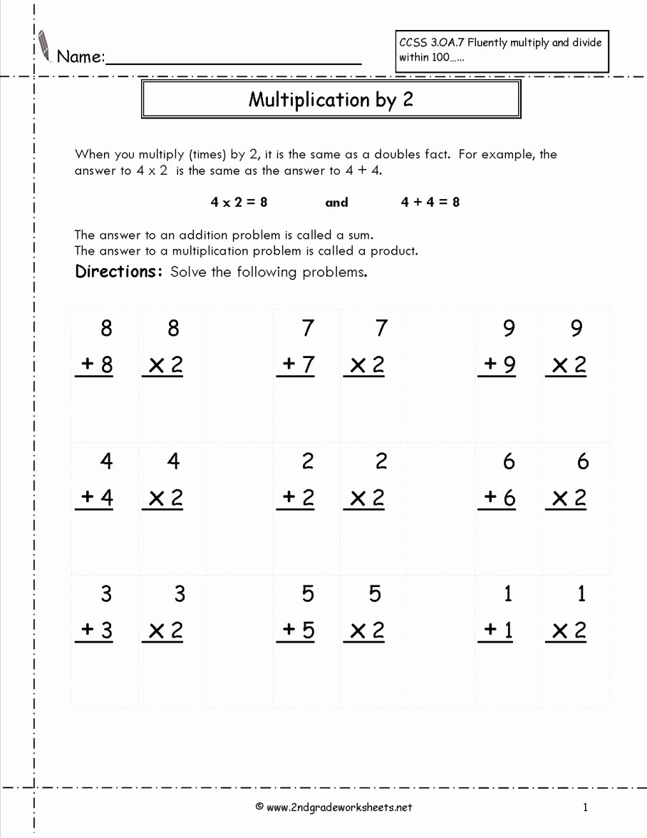 Doubles Math Facts Worksheet Awesome 20 Doubles Math Fact Worksheets
