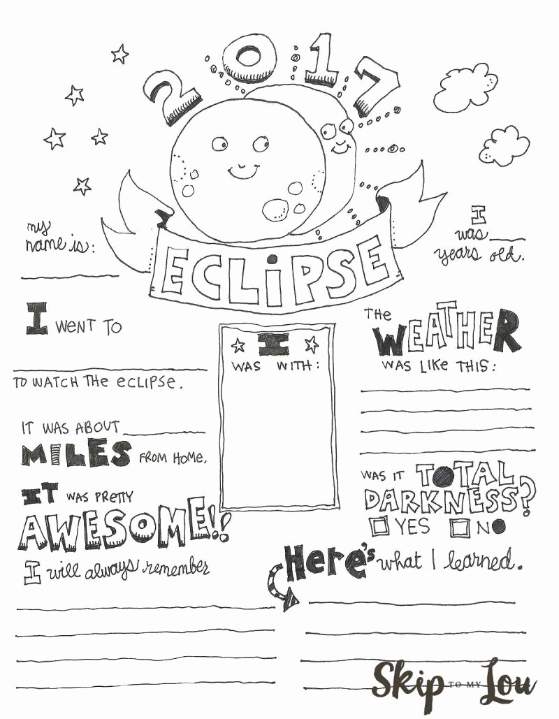 Eclipse Worksheets for Middle School Beautiful 20 solar Eclipse Worksheets Middle School