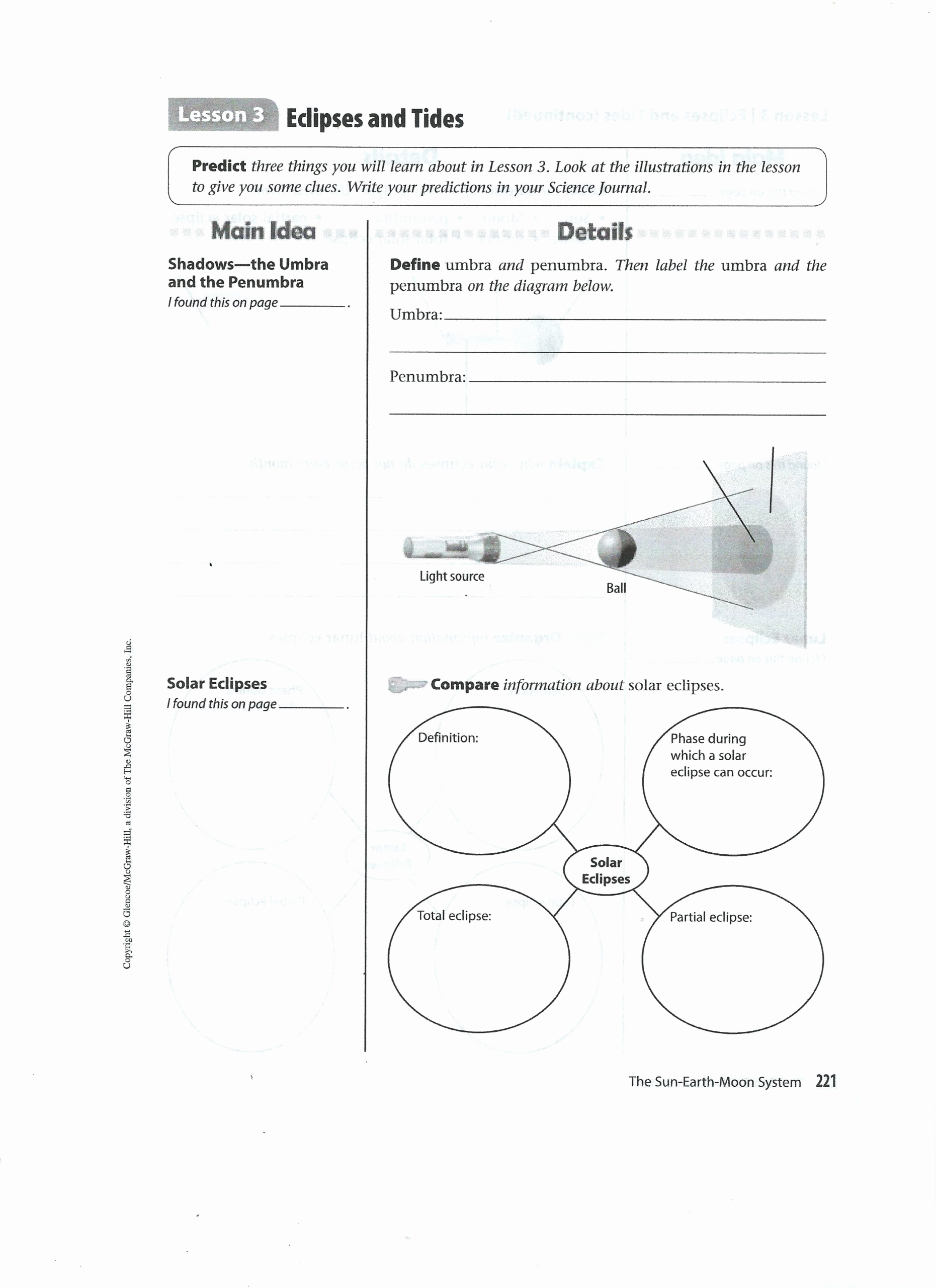 Eclipse Worksheets for Middle School Fresh 20 solar Eclipse Worksheets Middle School