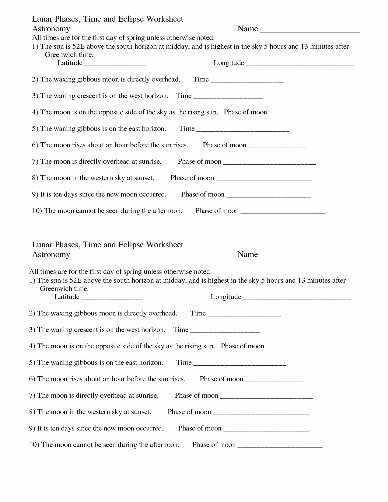 Eclipse Worksheets for Middle School Fresh 30 Eclipse Worksheet Middle School Worksheet Iist source