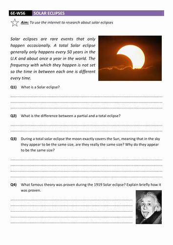 Eclipse Worksheets for Middle School Fresh solar Eclipse Worksheet Dcjsss by Erhgiez Teaching