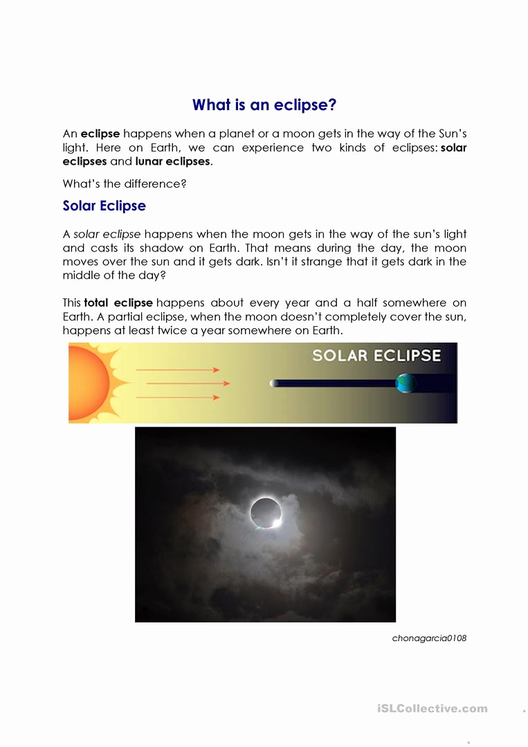 Eclipse Worksheets for Middle School New 20 solar Eclipse Worksheets Middle School