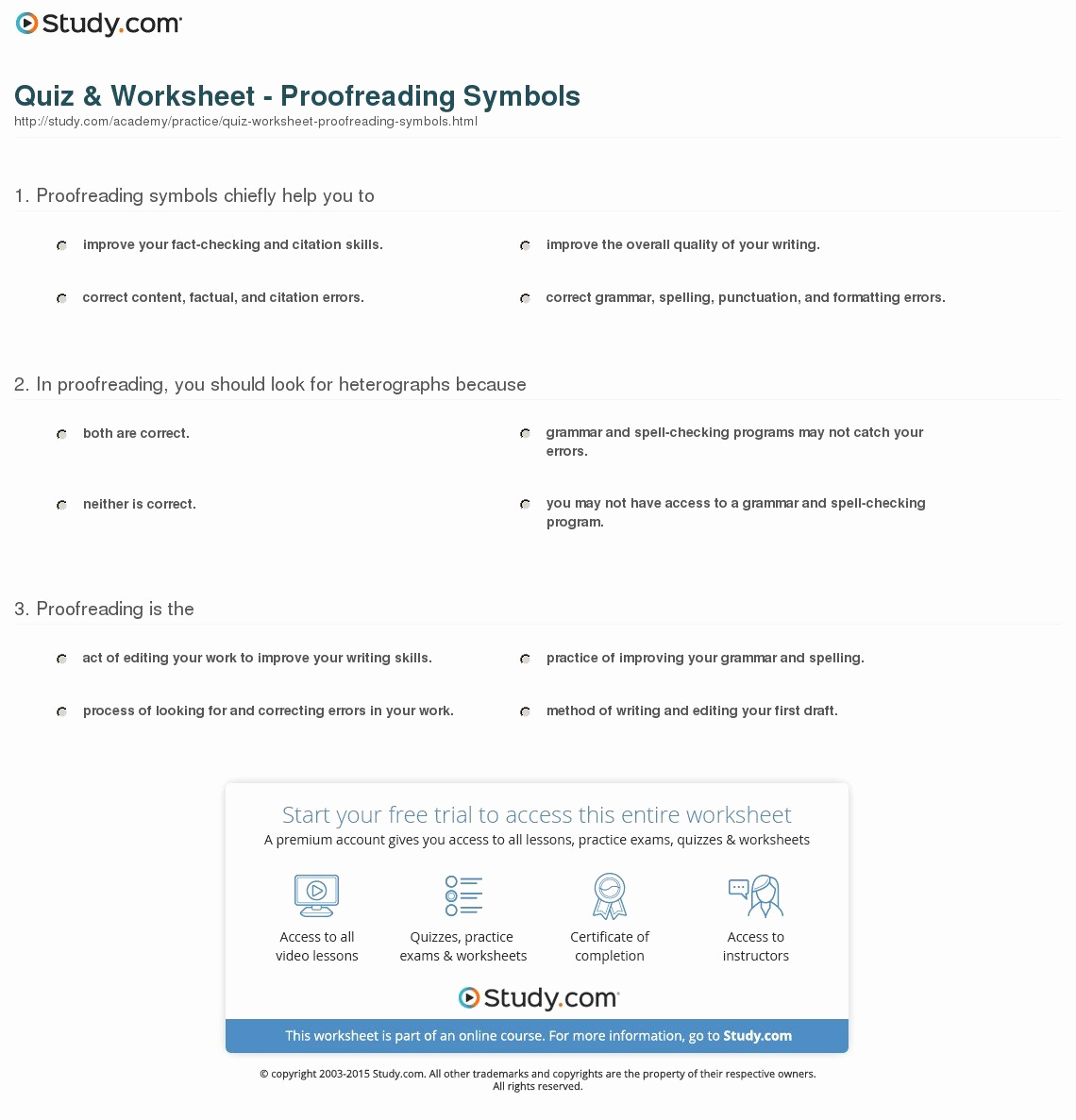 Editing and Proofreading Worksheets Beautiful Proofreading and Editing Worksheets Grade 6 — Excelguider