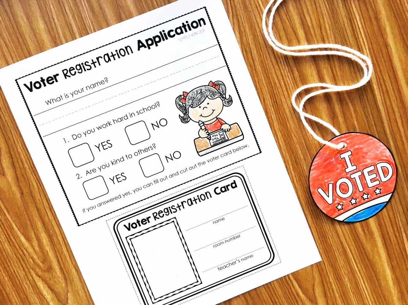 Election Day Worksheets Awesome Election Day Activities for Kinder
