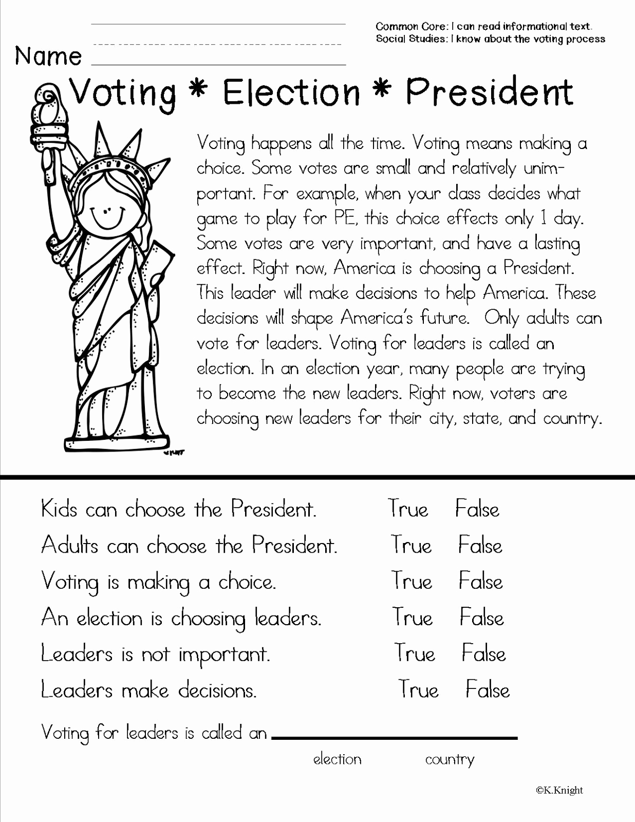 Election Day Worksheets Beautiful American Symbols