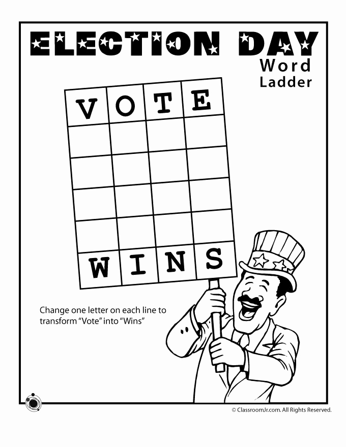 Election Day Worksheets Beautiful Election Worksheets for Kids Woo Jr Kids Activities
