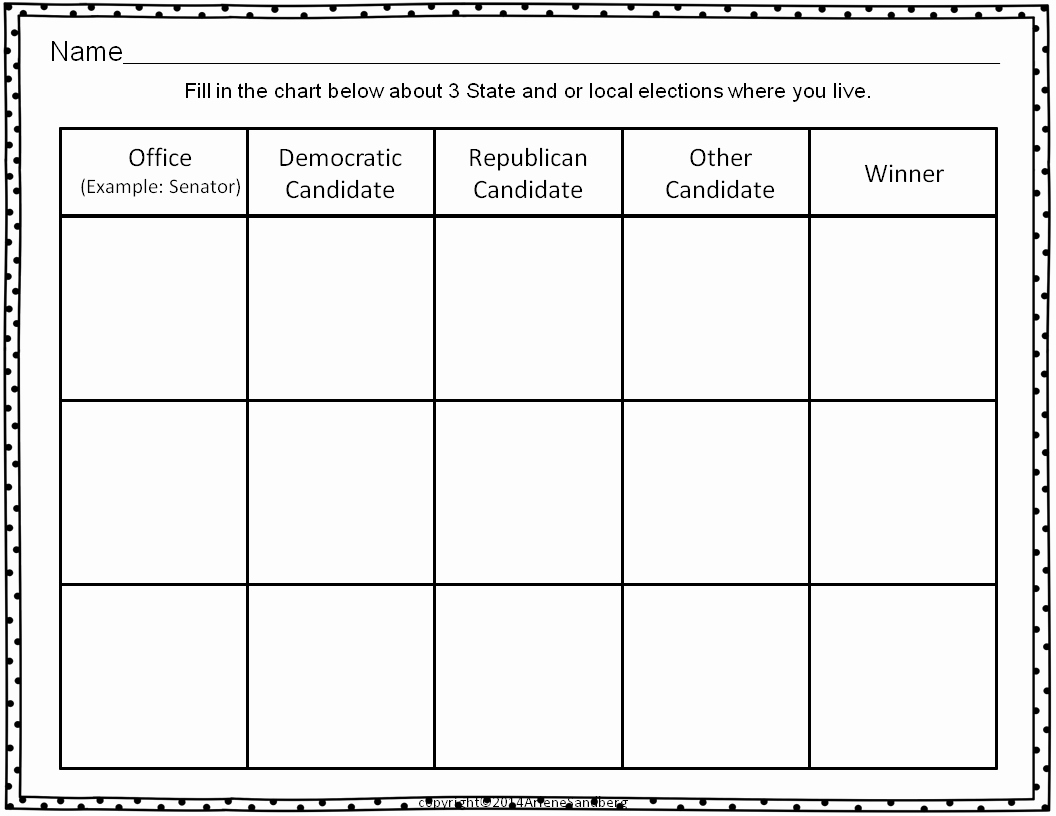 Election Day Worksheets Fresh Election Day Activities Packet Classroom Freebies