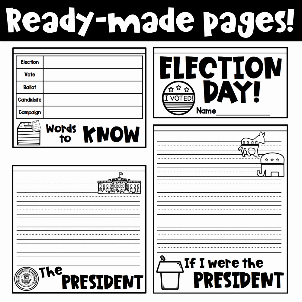 Election Day Worksheets Lovely Election Day Activities Teaching In the tongass