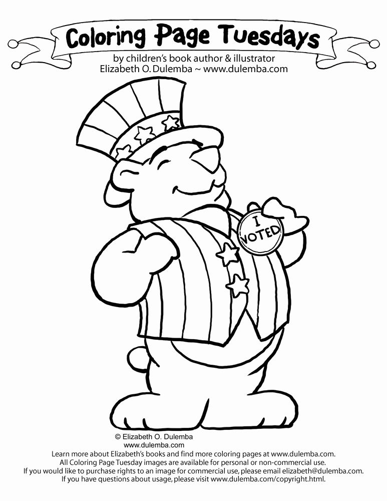 Election Day Worksheets Luxury 14 Coloring Pictures Election Day Print Color Craft