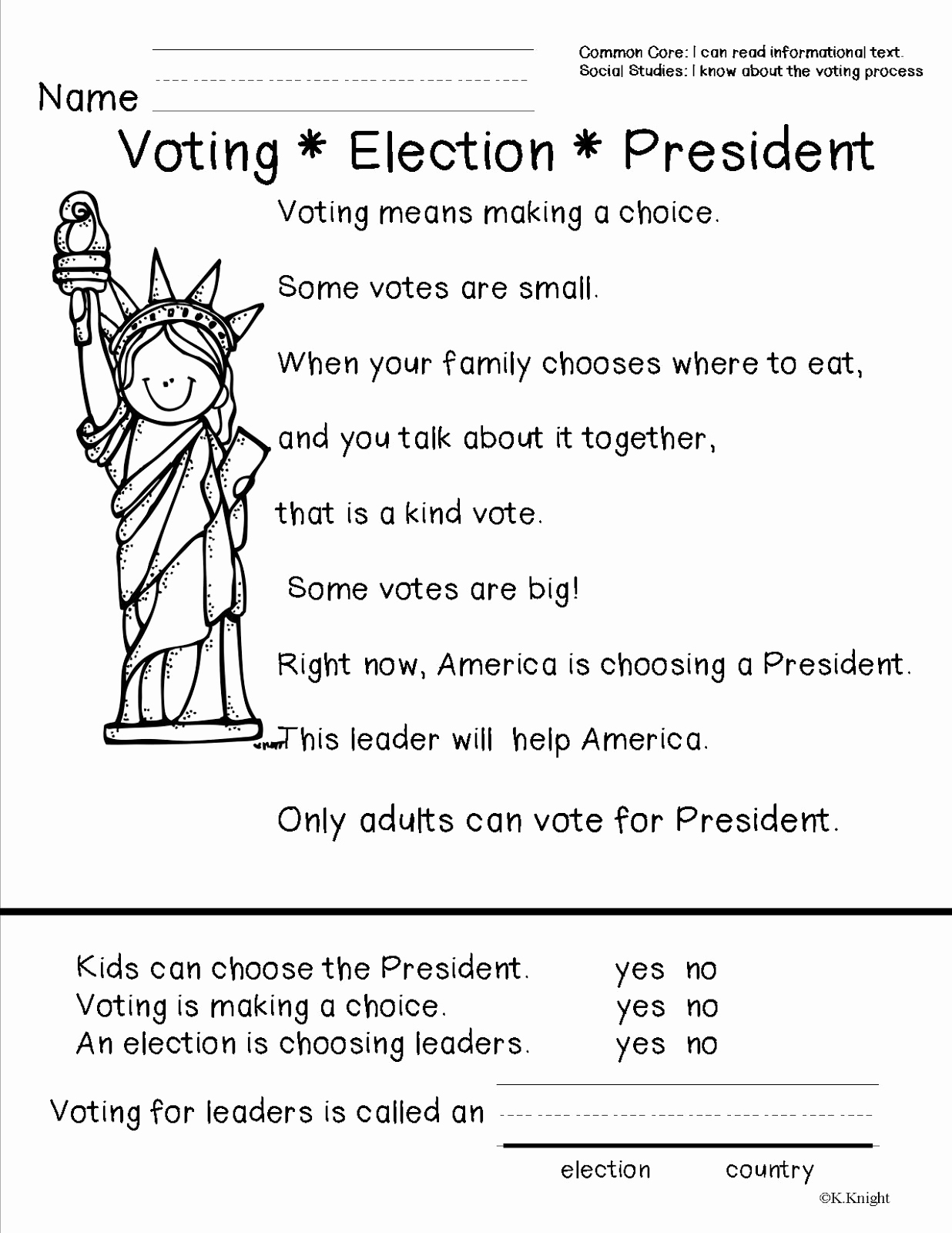 Election Day Worksheets Luxury American Symbols