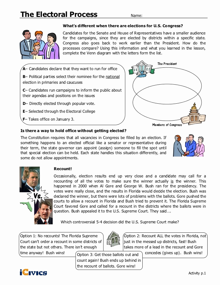 Election Day Worksheets Unique 30 Election Day Worksheets