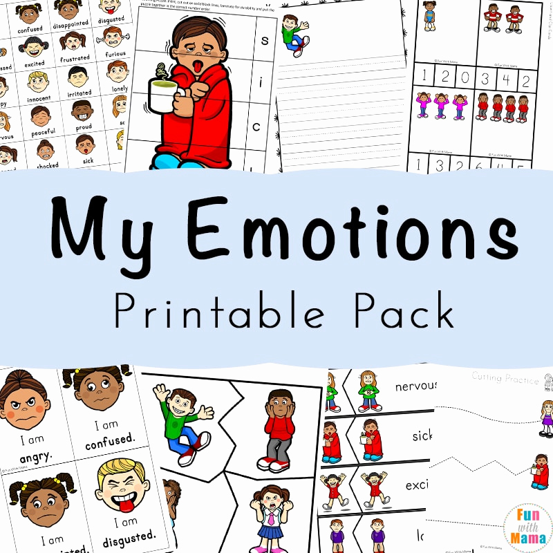 Emotions Worksheets for Preschoolers Awesome Feelings Activities Emotions Worksheets for Kids Fun