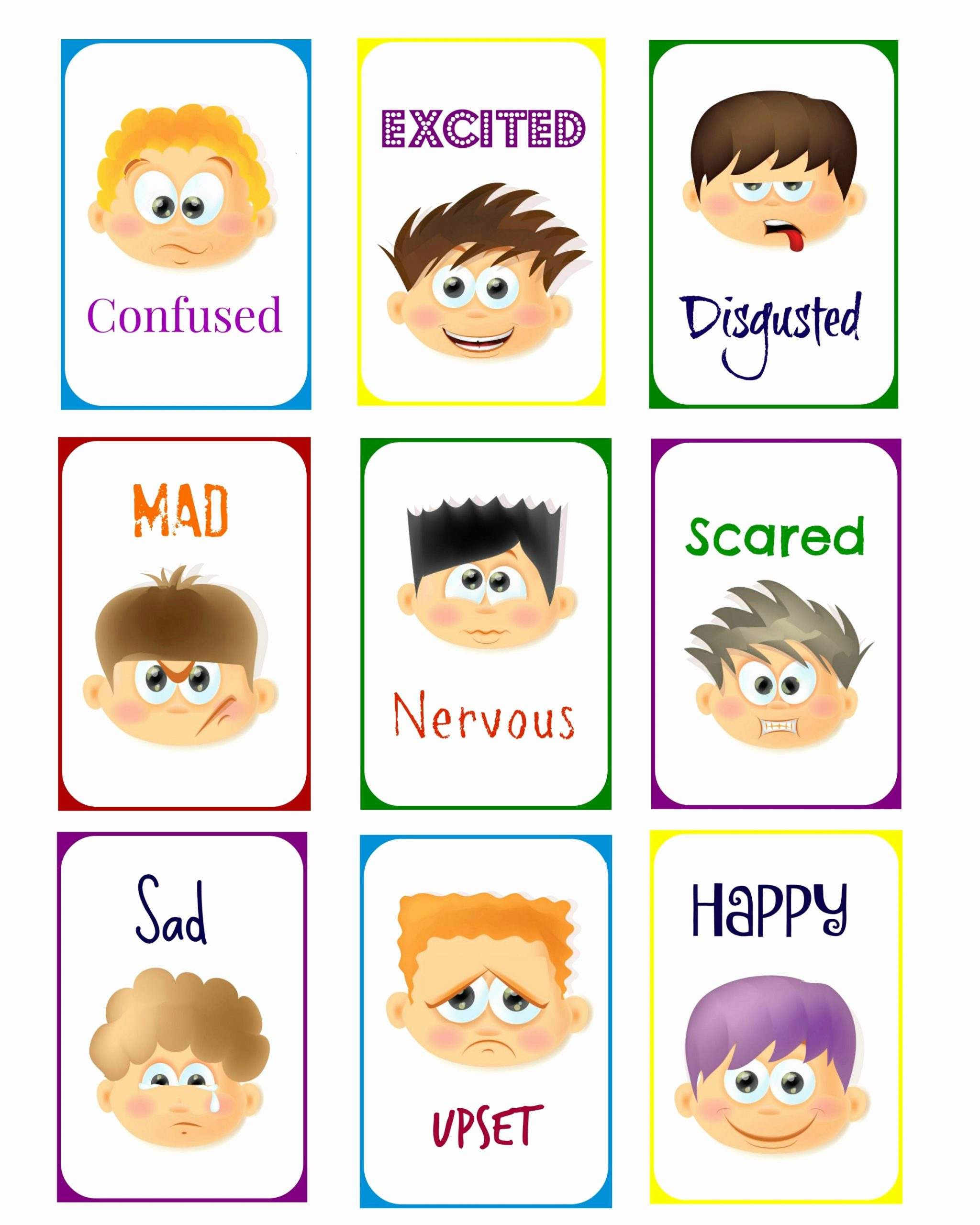 Emotions Worksheets for Preschoolers Beautiful Exclusive Content for Subscribers