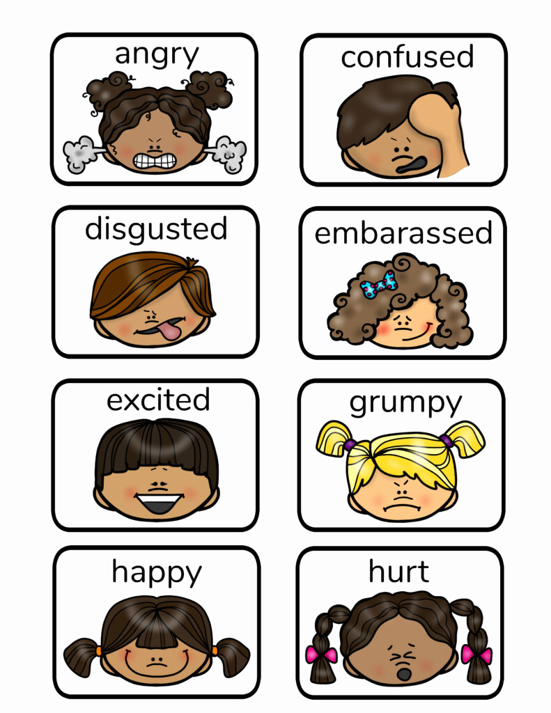 Emotions Worksheets for Preschoolers Best Of Free Printable Emotion Faces and Activities Natural