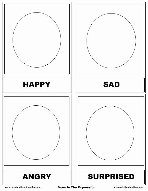 Emotions Worksheets for Preschoolers Lovely Identify Emotions Preschool Worksheets