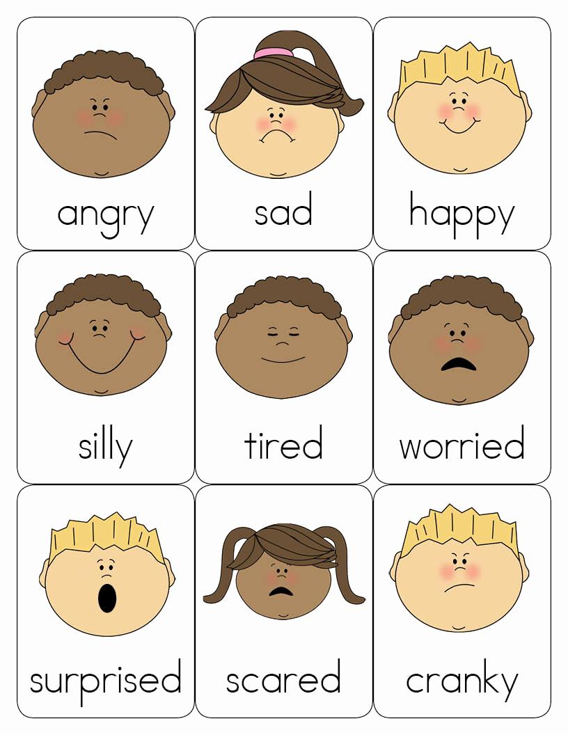 Emotions Worksheets for Preschoolers New Lanie S Little Learners Preschool Feelings theme