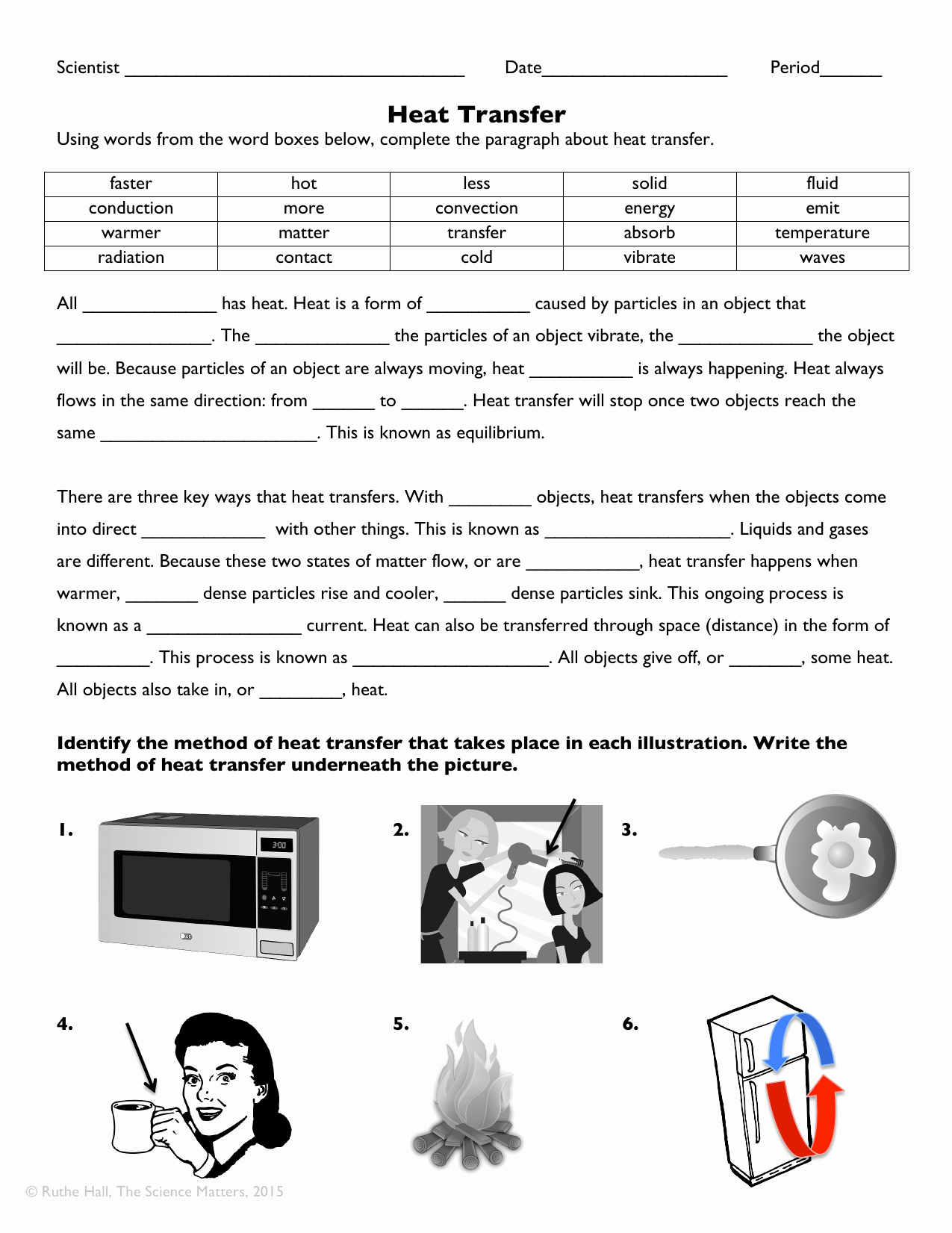 Energy Worksheets Middle School Pdf Unique Heat Transfer Worksheet Answer Key Pdf Best Worksheet