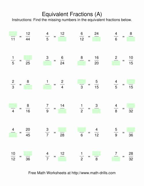 Equivalent Fractions Coloring Worksheet Awesome Equivalent Fraction Coloring Worksheets