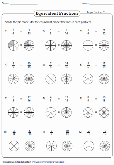 Equivalent Fractions Coloring Worksheet Beautiful Fractions Free Colouring Pages