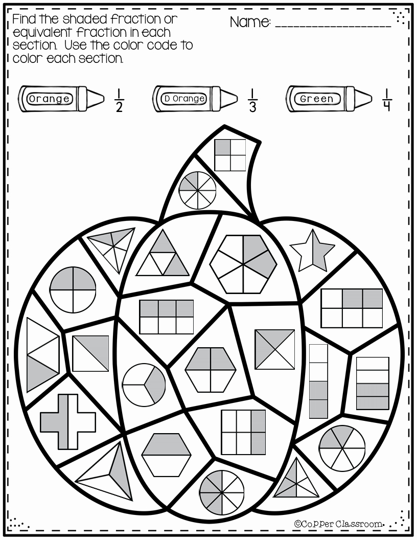 Equivalent Fractions Coloring Worksheet Fresh Thanksgiving Paring Classifying Fractions Equivalent