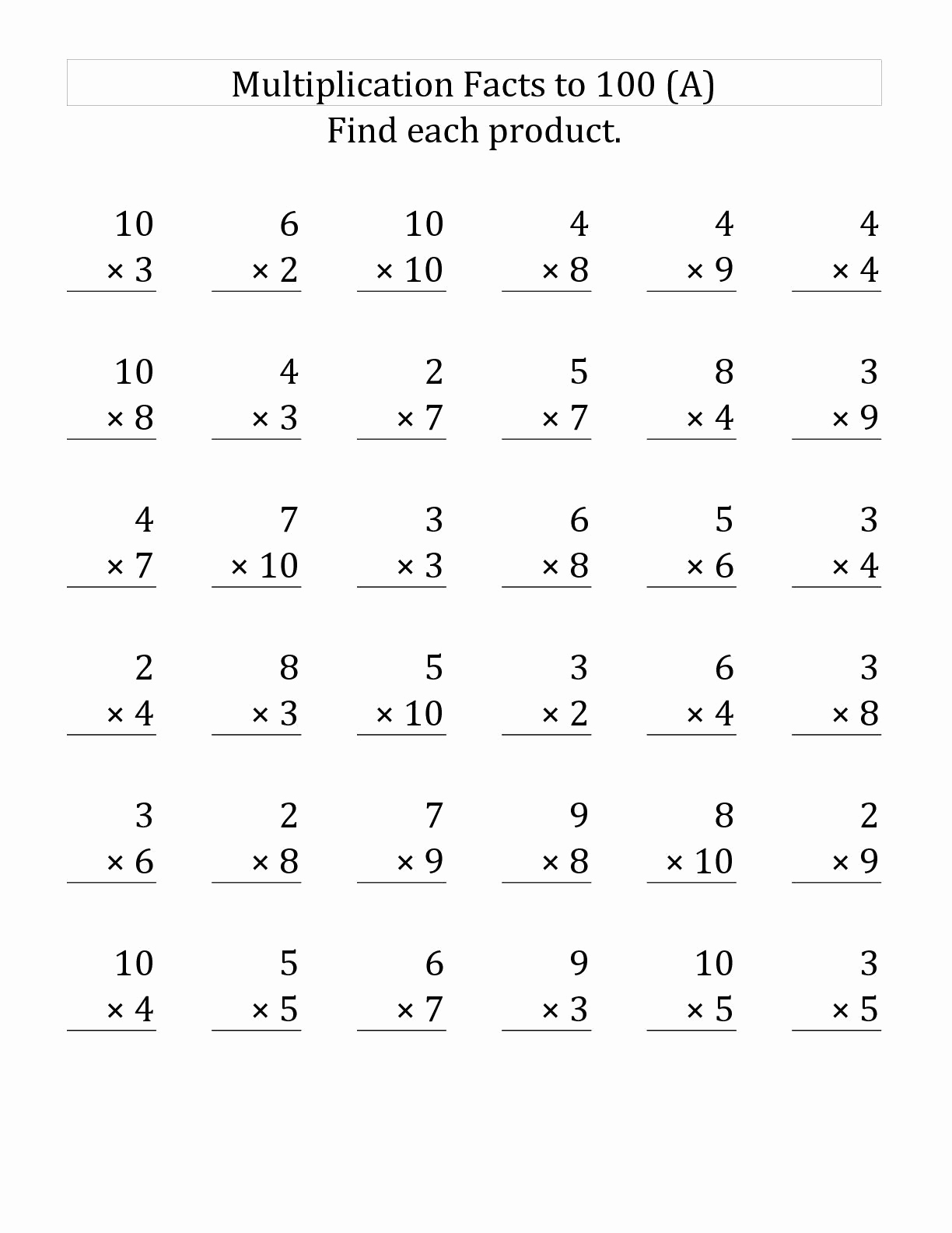 Estimation Worksheets for 3rd Grade Beautiful 3rd Grade Math Practice Multiplication Worksheets