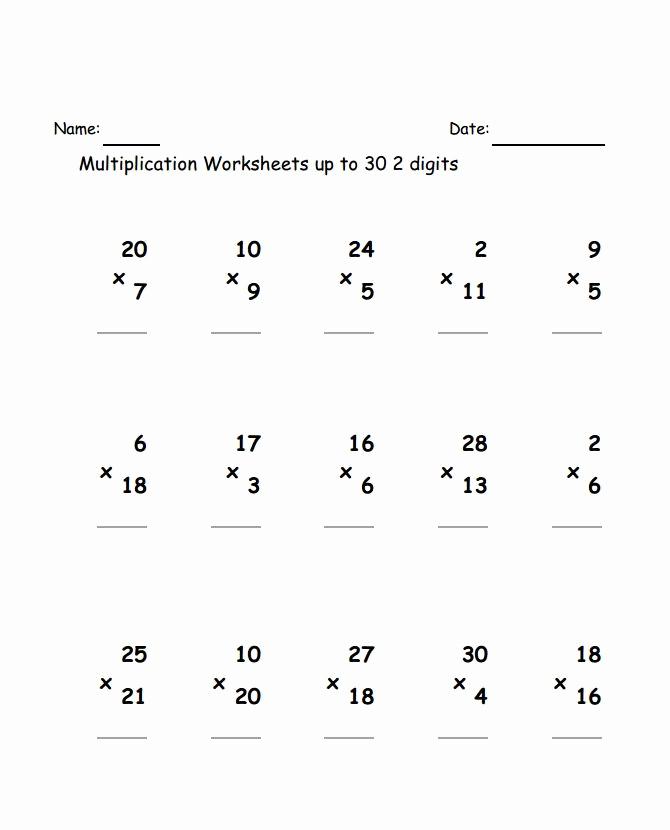 Estimation Worksheets for 3rd Grade Lovely 3rd Grade Multiplication Worksheets Best Coloring Pages