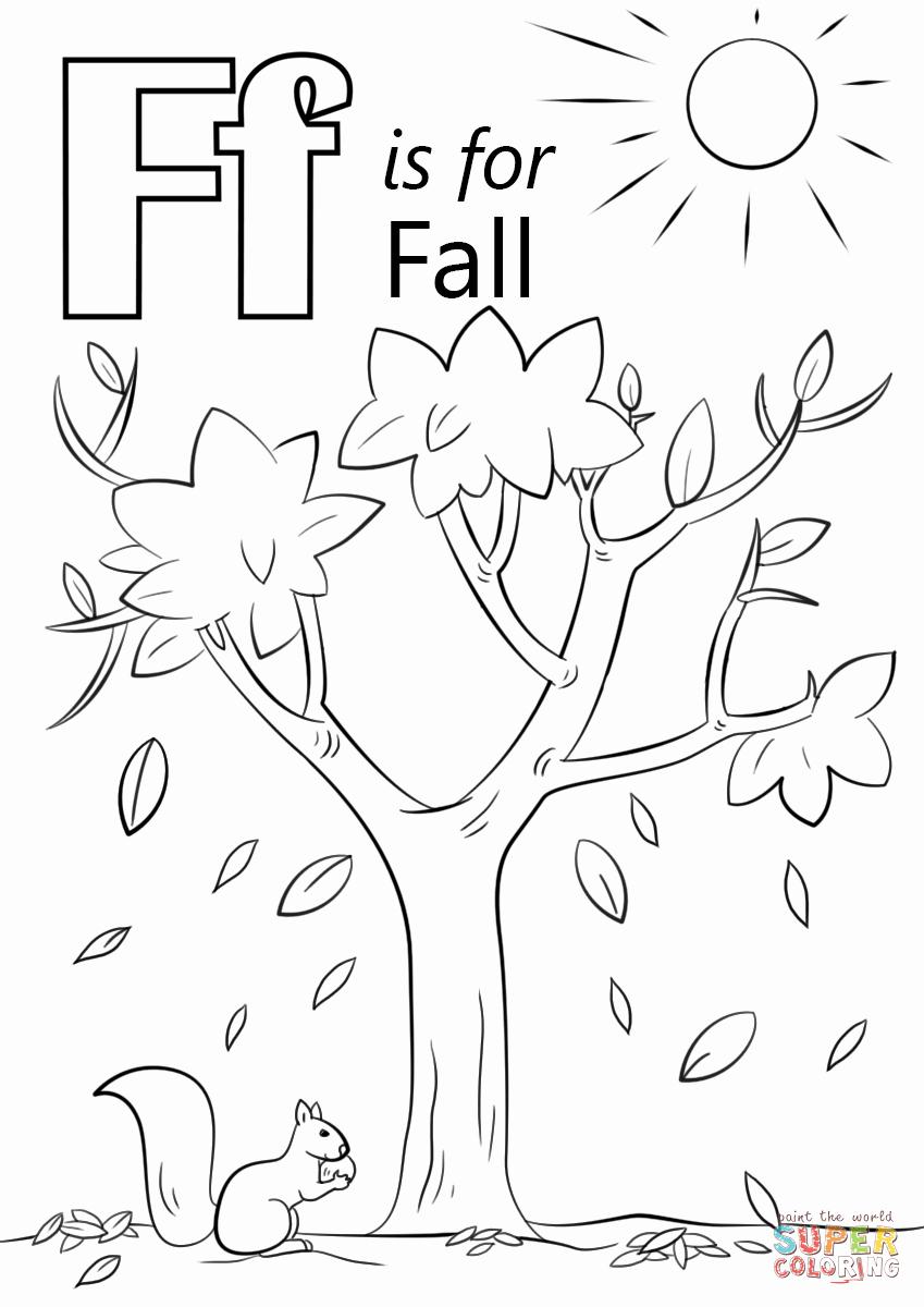 F Worksheets for Preschool Elegant 15 Useful Letter F Worksheets for toddlers