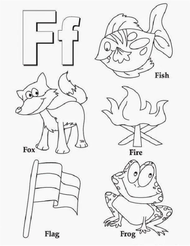 F Worksheets for Preschool Fresh Letter F Coloring Worksheet Preschool Crafts