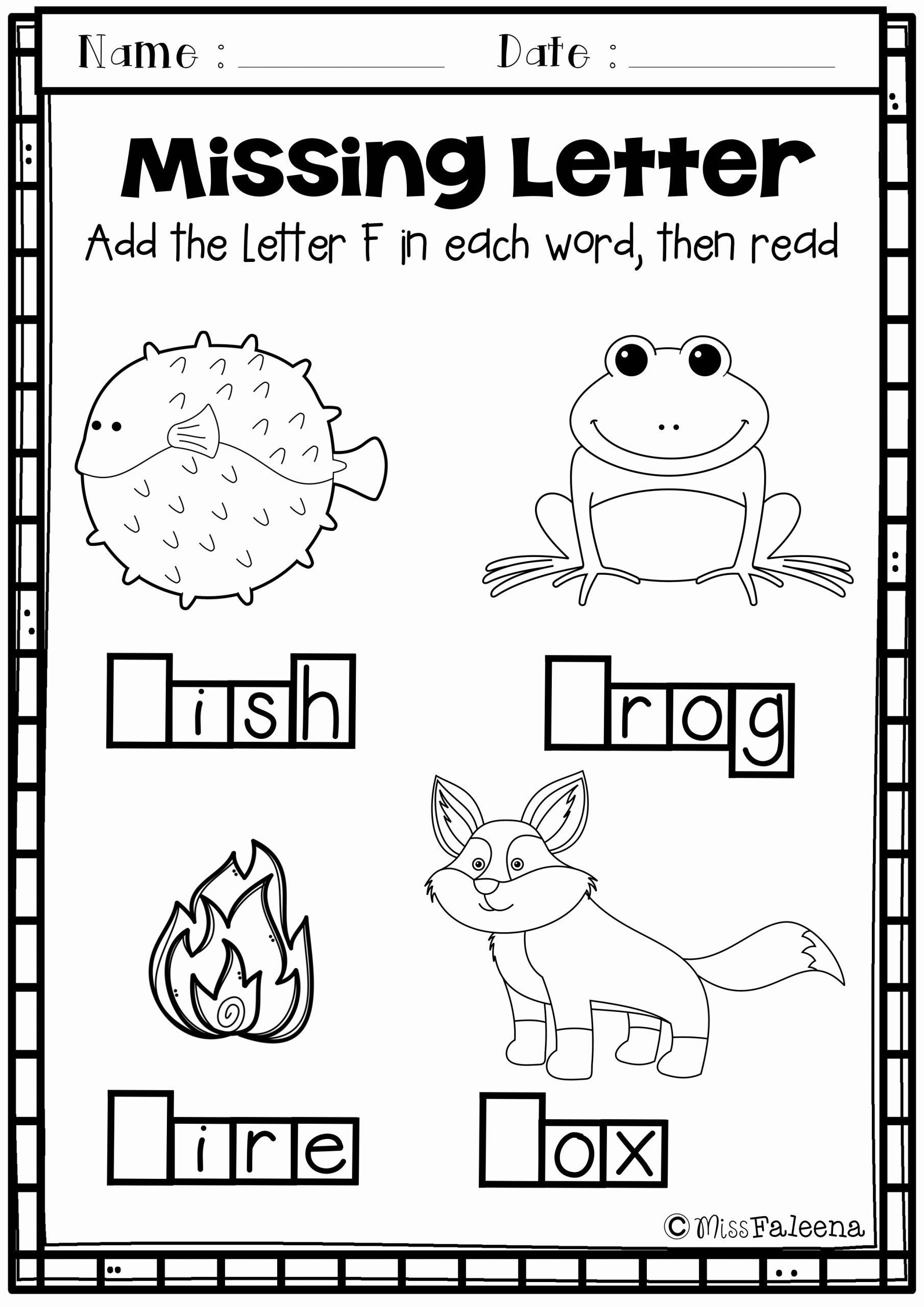 F Worksheets for Preschool Luxury Alphabet Letter Of the Week F