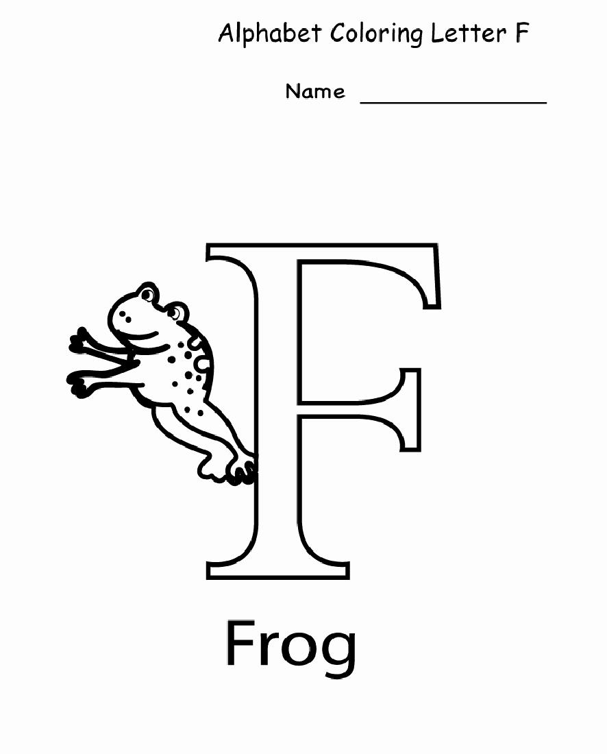 F Worksheets for Preschool Luxury Letter F Worksheet for Preschool and Kindergarten