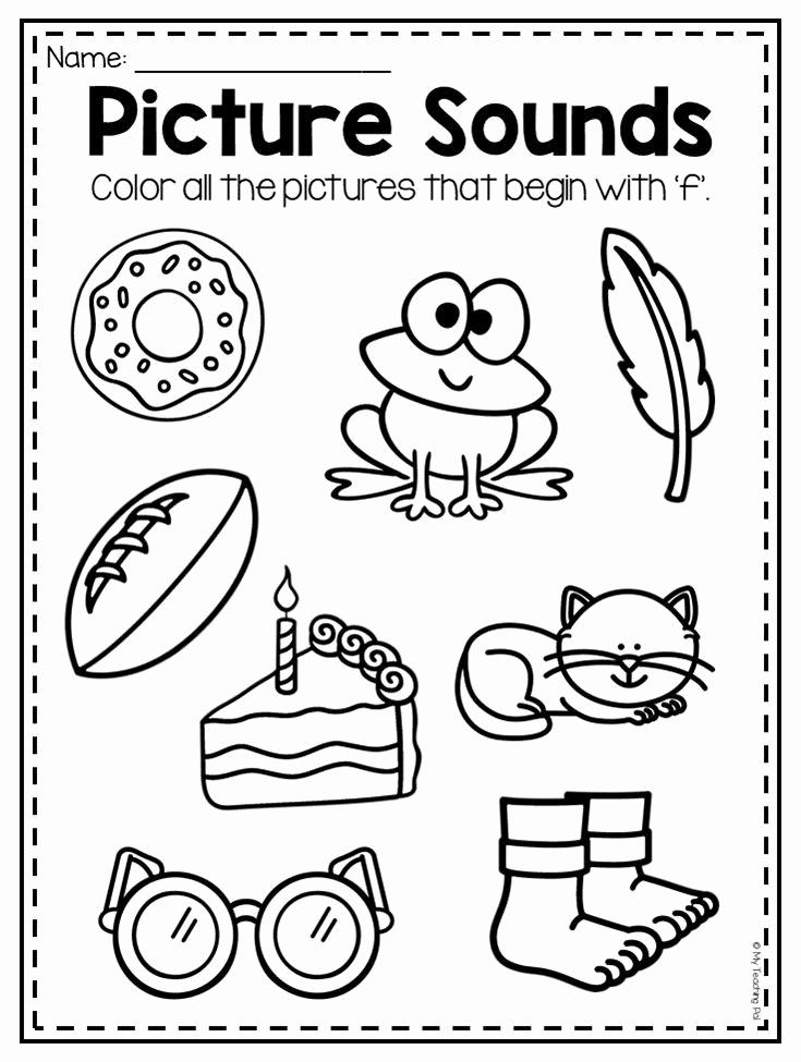 F Worksheets for Preschool Unique Mega Alphabet Worksheet Pack Pre K Kindergarten