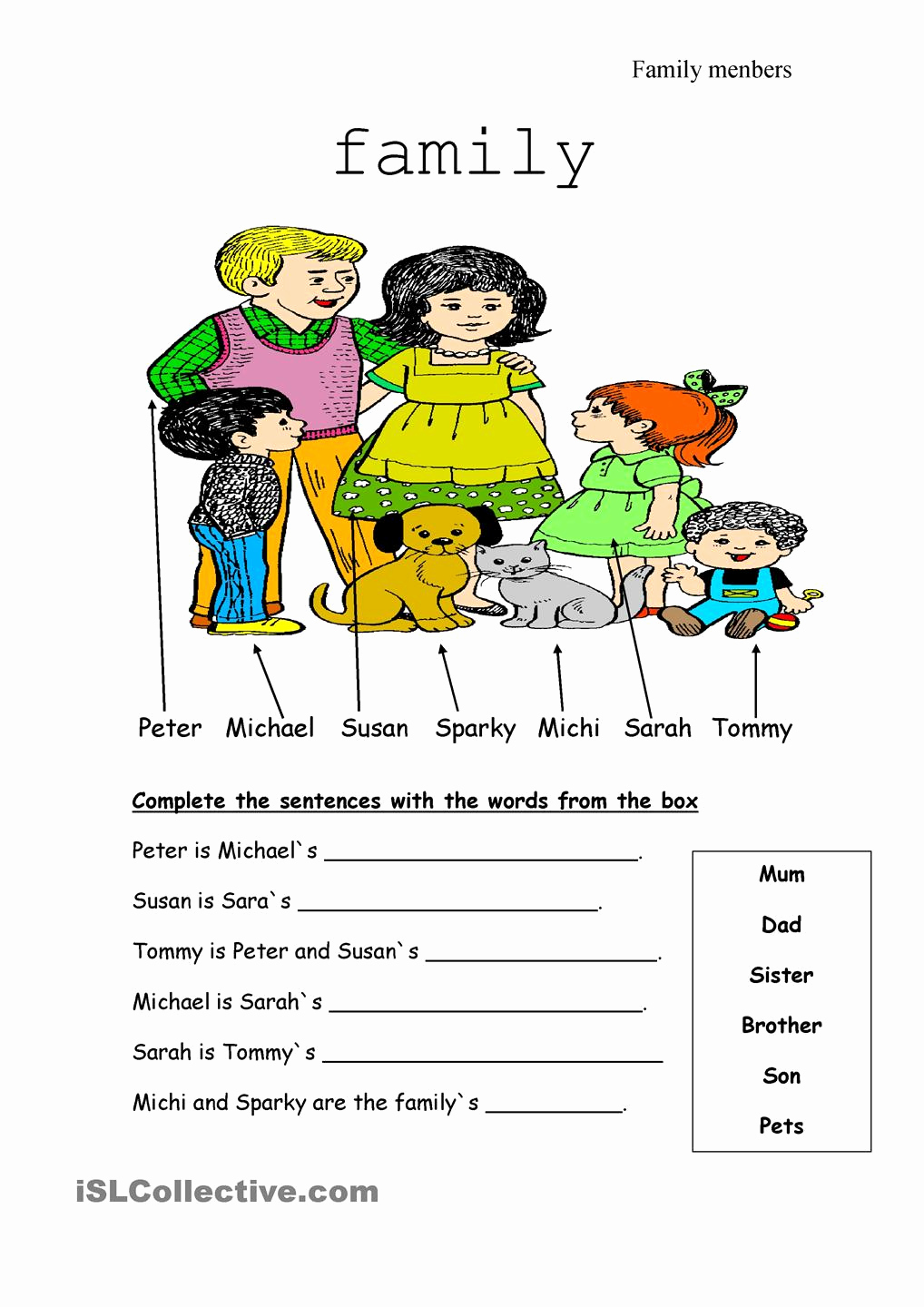 Family Tree Worksheets for Kids Beautiful Family Tree Worksheets Elementary