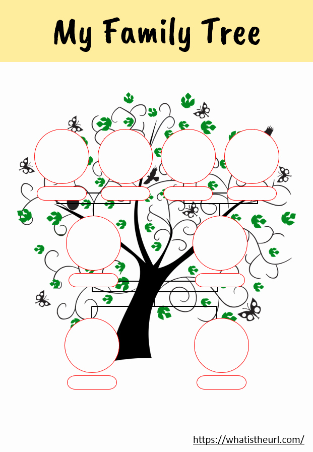 Family Tree Worksheets for Kids Best Of My Family Tree Activity Worksheet Your Home Teacher
