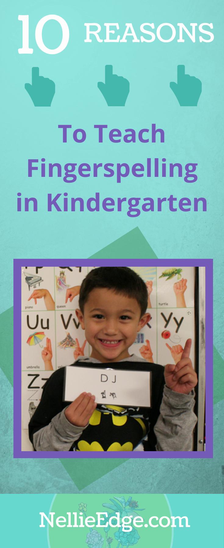Fingerspelling Practice Worksheets Awesome 10 Reasons to Teach Fingerspelling In Kindergarten