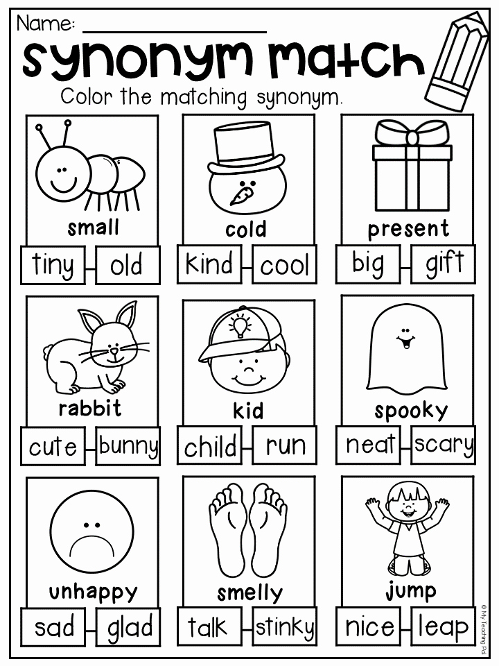 First Grade Antonyms Worksheet Inspirational Grammar Worksheet Packet Pound Words Contractions