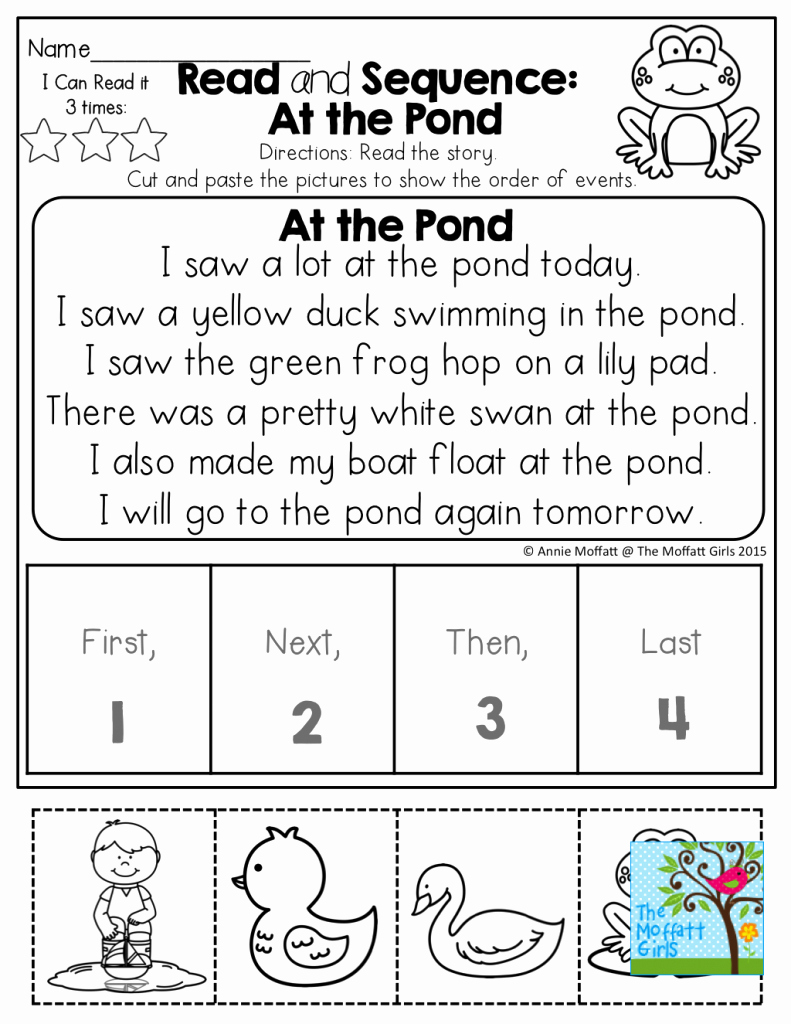 First Grade Sequencing Worksheets Luxury Printable Sequencing Cards for First Grade